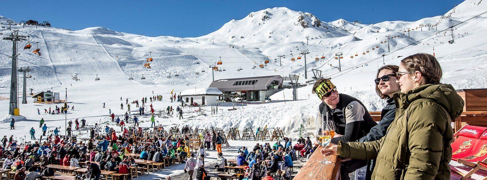 Аншлаг на горнолыжных курортах Австрии