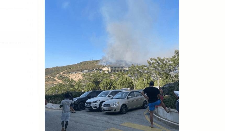 Угроза лесного пожара в Бодруме