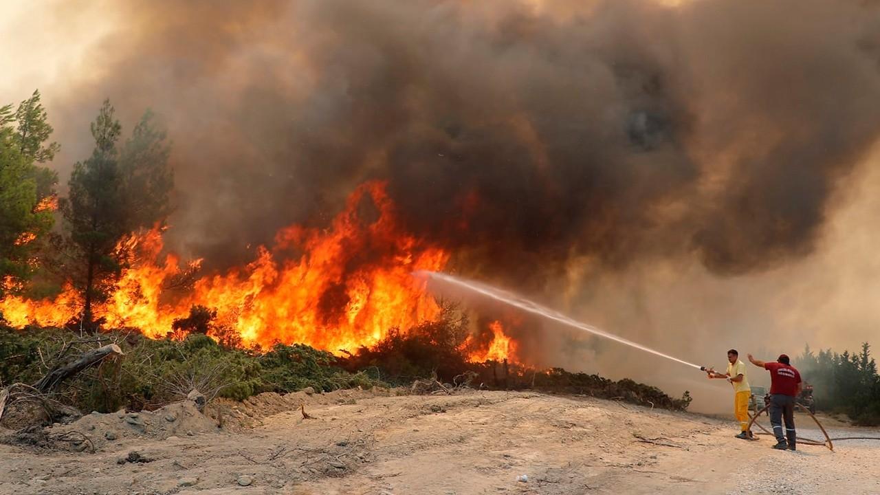 Пожары в Турции